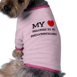 My Heart Belongs To An ENDOCRINOLOGIST Doggie Tee