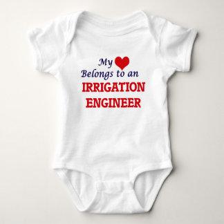 My Heart Belongs to an Irrigation Engineer T-shirts