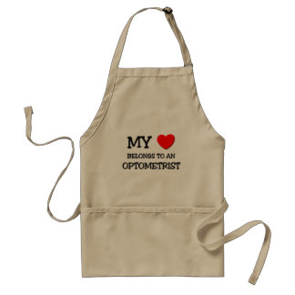 My Heart Belongs To An OPTOMETRIST Standard Apron