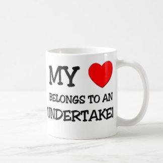 My Heart Belongs To An UNDERTAKER Coffee Mug