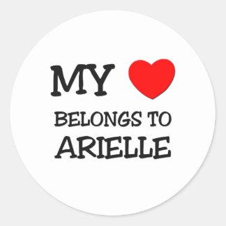 My Heart Belongs To ARIELLE Sticker
