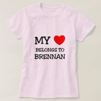 My Heart Belongs to Brennan Tshirts