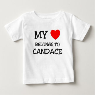 My Heart Belongs To CANDACE Shirt