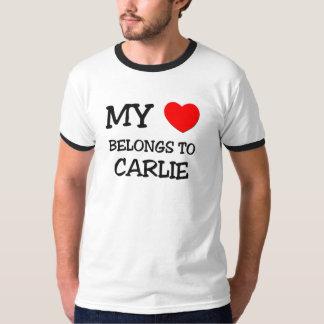 My Heart Belongs To CARLIE T-Shirt