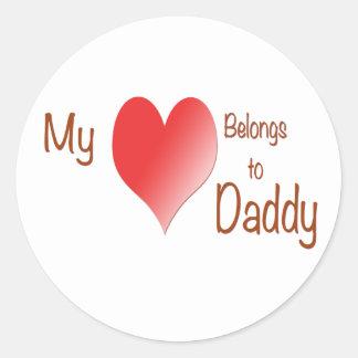 My Heart Belongs to Daddy Stickers