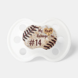 My Heart Belongs to Daddy's Baseball Number Dummy