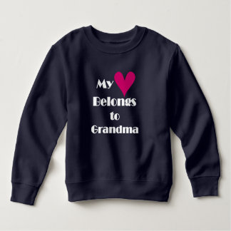 My Heart Belongs to Grandma T Shirts