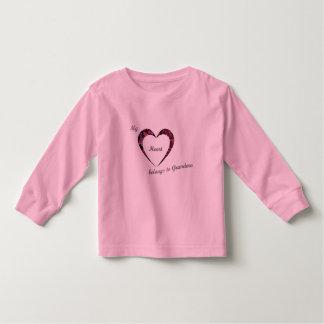 My Heart belongs to Grandma T Shirt