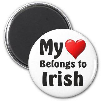 My heart Belongs to Irish Magnet