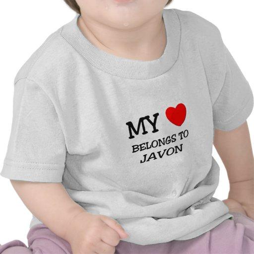 My Heart Belongs to Javon T Shirts