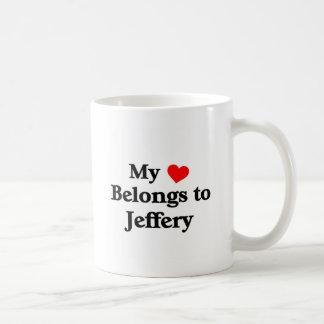 My heart belongs to Jeffery Coffee Mug