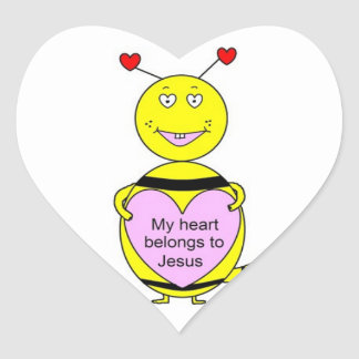 My Heart Belongs To Jesus Stickers