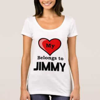 My Heart belongs to Jimmy T-Shirt