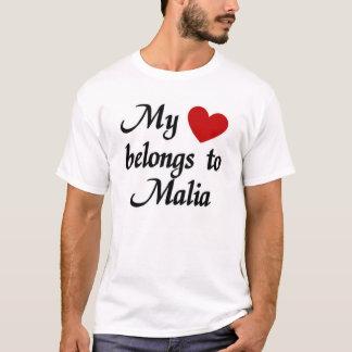 My heart belongs to Malia T-Shirt