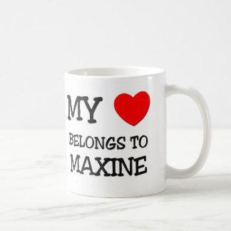 My Heart Belongs To MAXINE Mugs