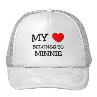 My Heart Belongs To MINNIE Hat