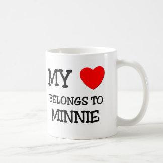 My Heart Belongs To MINNIE Mugs