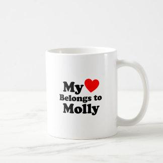 My Heart Belongs to Molly Coffee Mug
