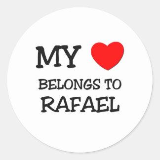My Heart Belongs to Rafael Sticker