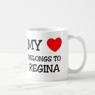 My Heart Belongs To REGINA Mugs
