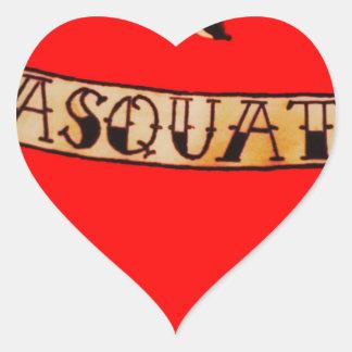 My heart belongs to sasquatch heart sticker