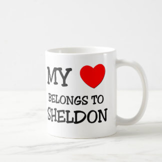 My Heart Belongs to Sheldon Coffee Mug