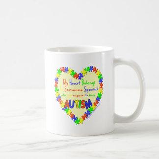 My heart belongs to someone coffee mug