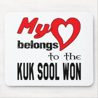 My heart belongs to the Kuk Sool Won. Mouse Pad