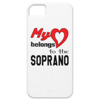 My heart belongs to the Soprano. Barely There iPhone 5 Case