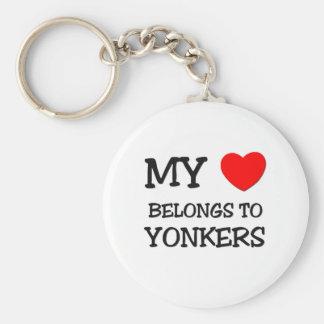 My heart belongs to YONKERS Key Ring
