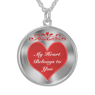 My Heart Belongs to You Personalizable Necklaces