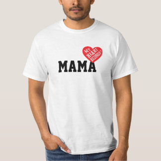 My Heart Belongs to [Your name] T-shirts