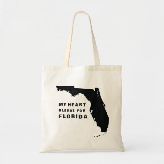My heart bleeds for Florida Tote Bag