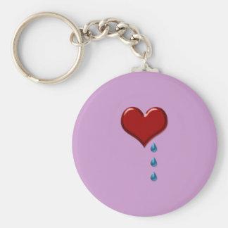 My Heart Cries Key Chain
