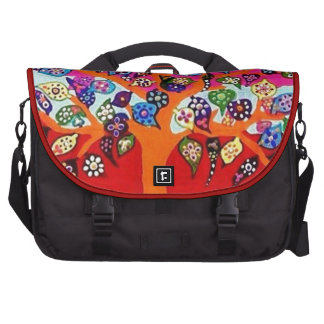 My Heart Flowers For You Tree Of Life Bags For Laptop