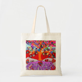 My Heart Flowers For You Tree Of Life Bag