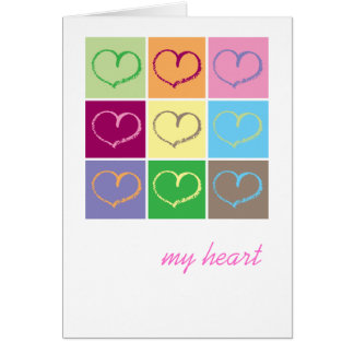 My Heart Greeting Card