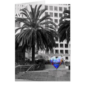 ...my Heart in San Francisco Card