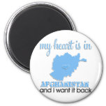 My Heart is in Afghanistan Refrigerator Magnet