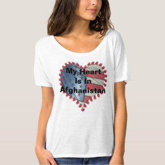 """My Heart Is In Afghanistan"" T-Shirt"