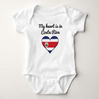 My Heart Is In Costa Rica Baby Bodysuit