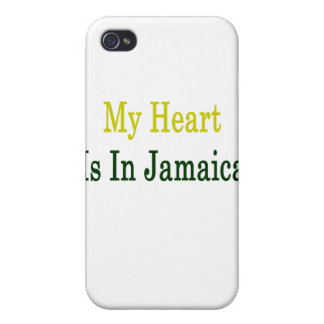 My Heart Is In Jamaica iPhone 4/4S Cases