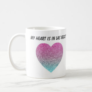 My Heart Is In Las Vegas Coffee Mug