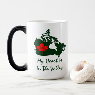 My heart is in the valley Digby Nova Scotia Magic Mug
