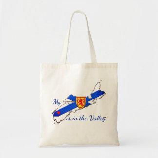 My heart is in the valley  Nova Scotia bag