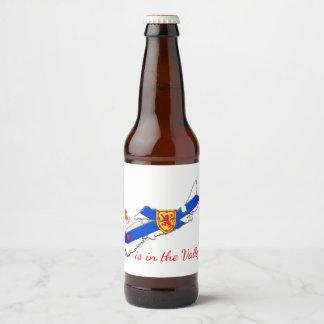 My Heart is in the valley Nova Scotia beer label