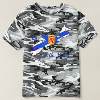 My Heart is in the valley Nova Scotia camouflage T-Shirt