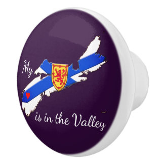 My Heart is in the valley Nova Scotia drawer pull