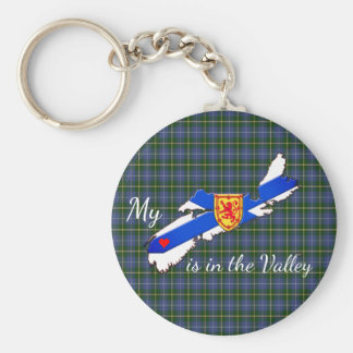 My Heart is in the valley Nova Scotia key chain