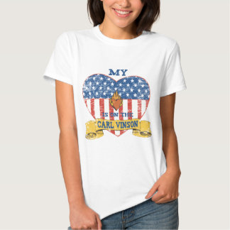 My Heart is on the Carl Vinson T-shirt